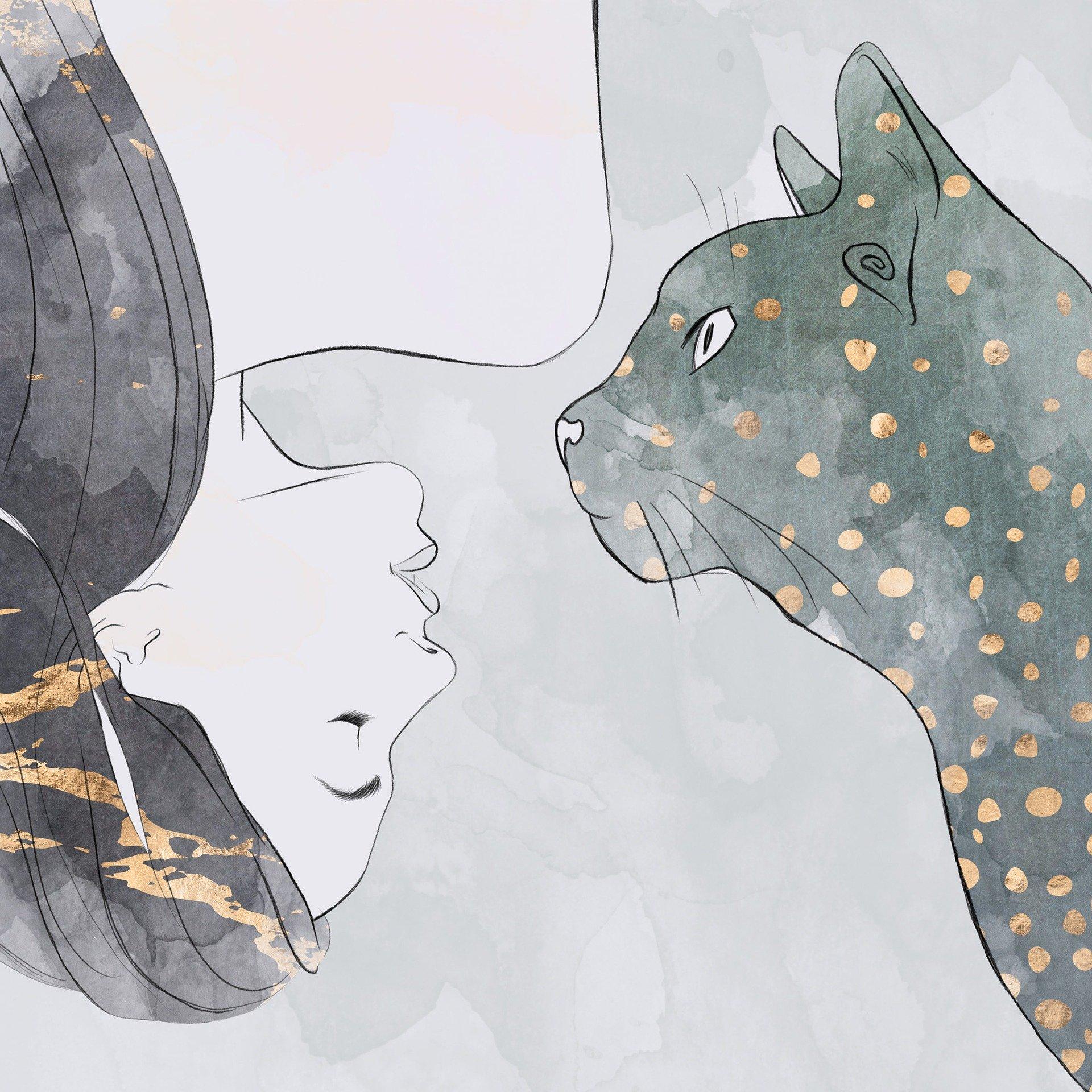 Nachtodkontakte mit Tieren